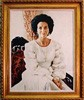 Former First Lady of Texas Painting