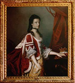 Countess of Shaftesbury Painting Large